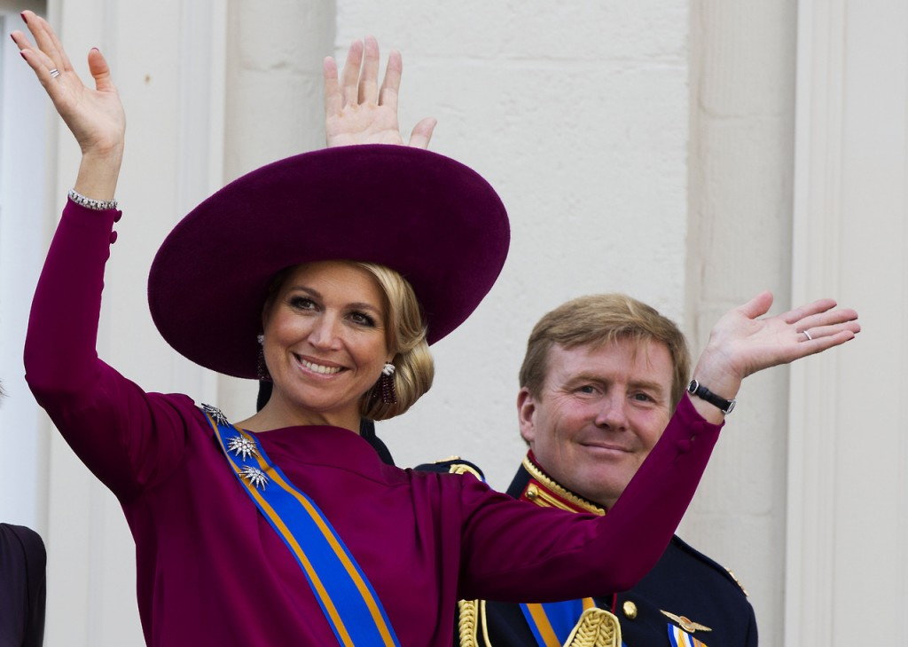 Princess Maxima, Crown Prince Willem Alexander