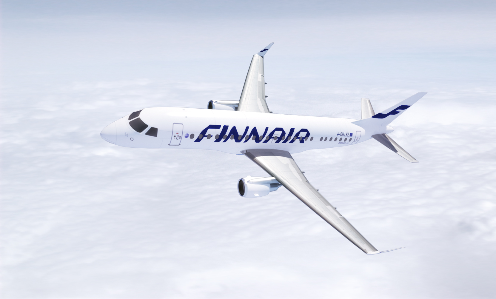 FIN Embraer 190 New 3D RGB