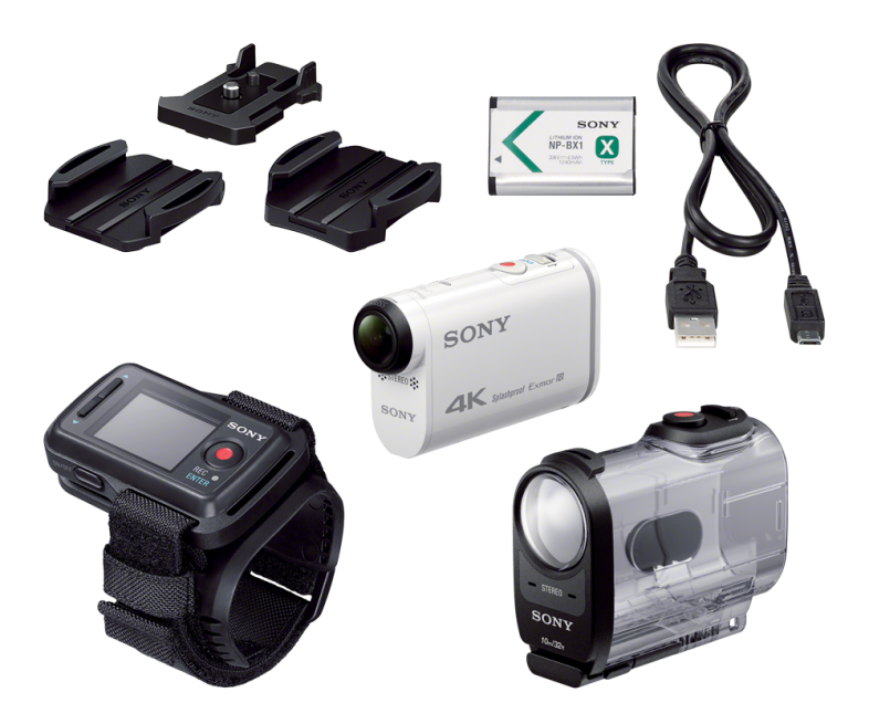 Sony-Action-Cam-X1000V-4K-todo-el-pack