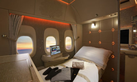 La nueva Suite privada de Emirates